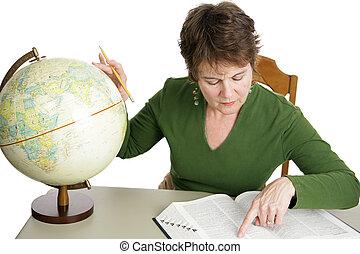 Investigación de geografía