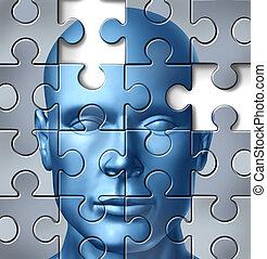 Investigación médica del cerebro humano