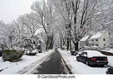Invierno en Washington DC