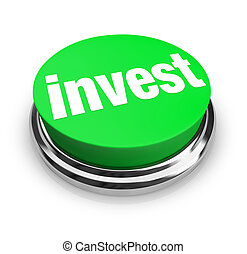 invierta, botón, -, verde