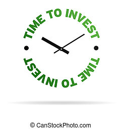invierta, reloj de tiempo
