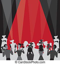 Invitación a la fiesta de premios de Hollywood