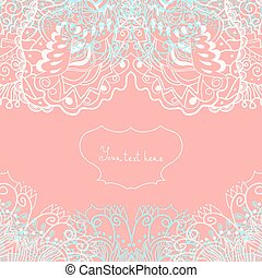 Invitación de boda o tarjeta de felicitación