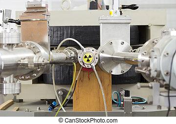 ion, acelerador, laboratorio