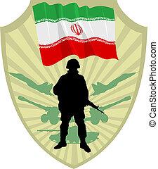 irán, ejército