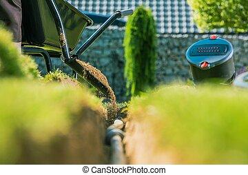 Irrigación de jardín
