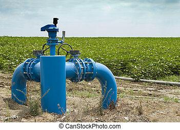 irrigación, sistemas