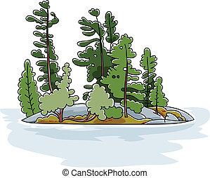 Isla Evergreen