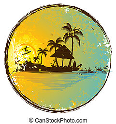 Isla exótica