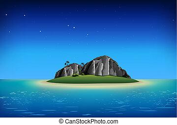 isla, rocoso