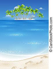 isla, trópicos