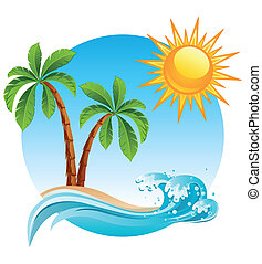 isla, tropical