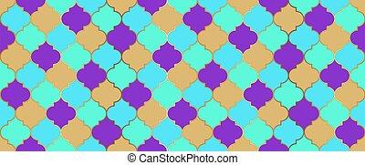 islam, seamless, fondo., mosaico, kareem, marroquí, texture., ramadan