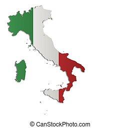 Italia mapa 2