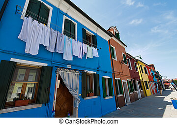 Italia, Venecia. Isla de Burano