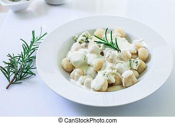 italiano, casero, gnocchi