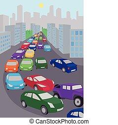 Jamón de tráfico