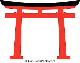 japón, torii