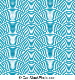 Japoneses sin mar, patter de ondas marinas