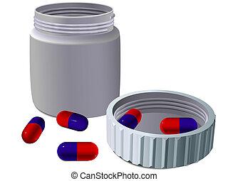 Jar para medicinas