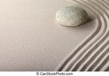 Jardín de piedra Zen Sand