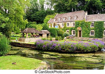 Jardín en los Cotswolds, Inglaterra