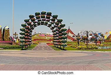 Jardín milagroso de Dubai