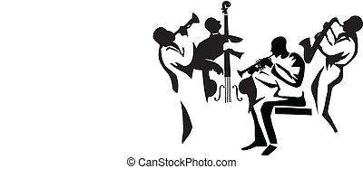 jazz, cuarteto