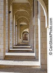 jerusalem., columnata