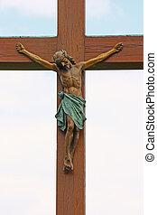 jesús, crucifijo, cristo