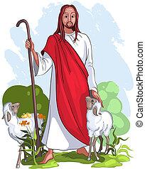 jesús, pastor, bueno