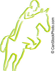 jinete caballo