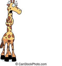 jirafa, cuello