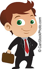 Joven hombre de negocios
