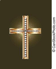 joyería del oro, cruz