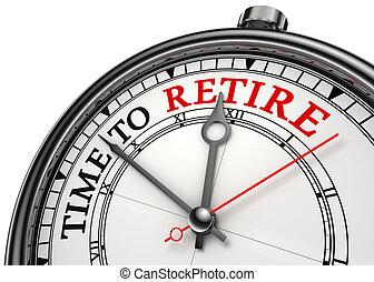 jubilar, concepto, reloj de tiempo
