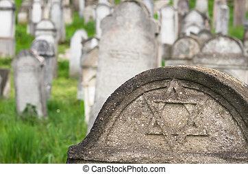 judío, cemetary