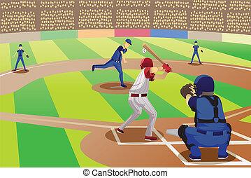 juego, beisball