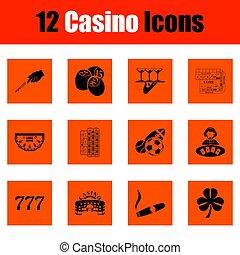 Juego de iconos Casino