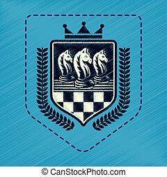 juego del ajedrez, emblema