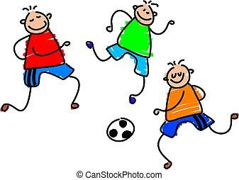 juego, futbol