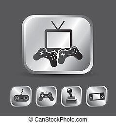 juego, vídeo