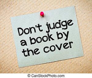 juez, cubierta de libro, haga no