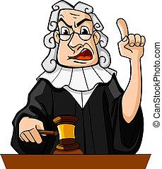 juez, marcas, veredicto