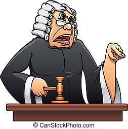 juez, martillo