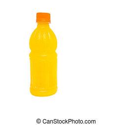 Jugo de naranja embotellado