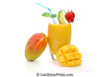 jugo, mango