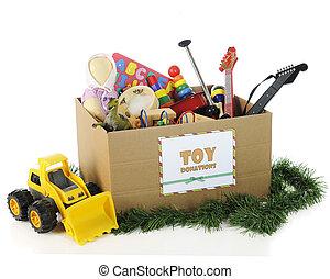 juguetes, caridad, navidad