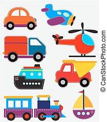 Juguetes de transporte