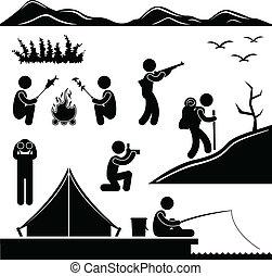 Jungle Trekking camping